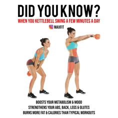 Kettlebell swings are one of the most effective fat burning exercises. The many … Kettlebell swings are one of the most effective fat burning exercises. Try adding them in for seconds at a… Continue Reading → Kettlebell Swings, Kettlebell Program, Crossfit Kettlebell, Kettlebell Challenge, Kettlebell Deadlift, Kettlebell Exercises For Arms, Kettlebell Arm Workout For Women, Weight Exercises, Yoga Exercises