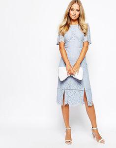 Image 1 ofWhistles Lace Shift Dress