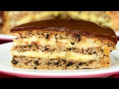 YouTube Apple Desserts, Just Desserts, Sweets Recipes, Cooking Recipes, Hungarian Cake, Romanian Desserts, Specialty Cakes, Marzipan, Something Sweet