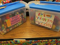 "Using ""fuzzies"" in the classroom. Very good idea!!"