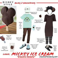 "Look: Mickey Ice Cream ""Disney Foods"" – disneybounding"