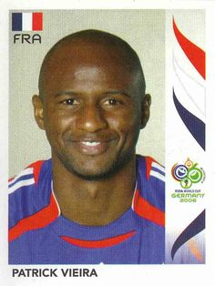 Sylvain Wiltord of France. 2006 World Cup Finals card. Football Stickers, Football Cards, Football Soccer, Baseball Cards, 2006 World Cup Final, France, Panini Sticker, Patrick Vieira, Fifa World Cup