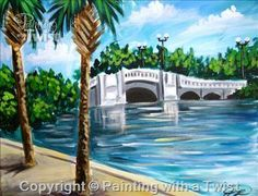 White Bridge - Naples, FL Painting Class - Painting with a Twist