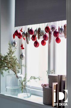 Découvrez nos idées DIY pour les décorations de Noël de vos fenêtres Décorations de Noël VINTER IKEABE