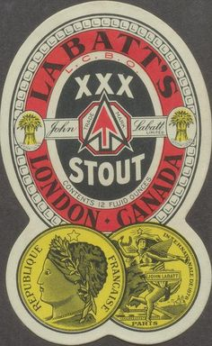 Labatt's XXX Stout by Thomas Fisher Rare Book Library, via Flickr