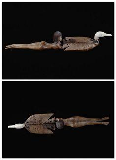 Cosmetic spoon.  The New Kingdom (circa 1550 to circa 1069 BC). | Louvre Museum