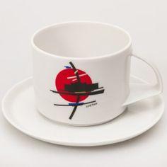 Suetin Teacup w/ Saucer