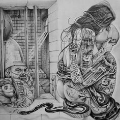 chicano state of mind Prison Drawings, Chicano Drawings, Tattoo Drawings, Art Drawings, Chicano Style Tattoo, Chicano Tattoos, Body Art Tattoos, Amor Chicano, Chicano Love