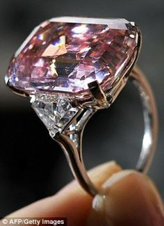 24.78 carat Pink Diamond...I'm sure it's completely affordable!