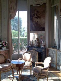 "Французский интерьер "" Villa Ephrussi de Rothschild on the French Riviera "" Beautiful Interiors, Beautiful Homes, Beautiful People, French Interior Design, French Interiors, French Architecture, Parisian Apartment, French Furniture, French Decor"