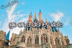 Go on a Disney date.