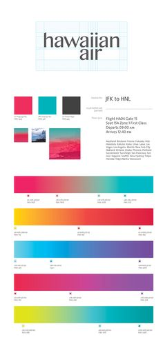 Hawaiian Airlines Rebrand on Behance