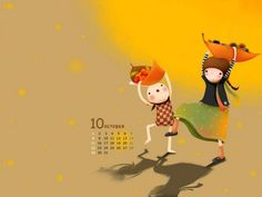 Wallpaper Series of Echi Illustrations (Vol.03)   - Korean Echi Illustration Wallpaper 14