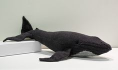 Free knitting pattern for Humpback Whale and more sea creature knitting patterns