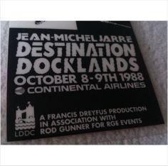 Online Marketplace at eBid United Kingdom : Free to Bid Jean Michel Jarre, Electronic Music, United Kingdom, Stage, England