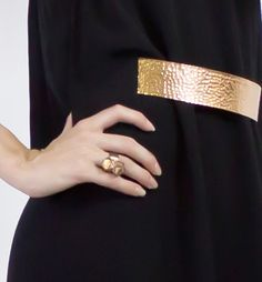 MELM Design - Bronze Double Termination Ring