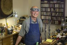Gary Armstrong has been repairing woodwind instruments for about 40 years and specializes in the oboe.