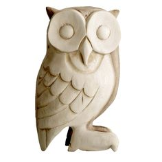 Gorgeous wooden owl from Bloomingville. www.bloomingville.com