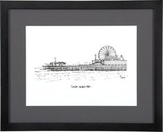 Cityscape Los Angeles Print in Art | Crate and Barrel