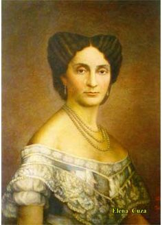 Elena Cuza - the wife of Alexandru Ioan Cuza, first ruler of Romania, a noble and charitable woman, patron of the poor and the sick. Special People, Funny Photos, Sick, Mona Lisa, Artwork, Artist, Ruler, Romania, Image