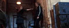 Wolverine, bring me a cheese pizza | Elizabeth Olsen (and Aaron Taylor Johnson) in the...
