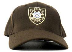 0f1c210d72139 The Walking Dead King County Georgia Sheriff s Dept. Baseball  Hat  Cap  Rick Grimes