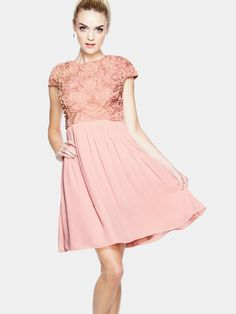 Teatro Abbie 3D Floral Skater Occasion Dress | Very.co.uk