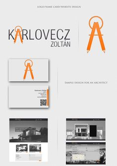 Design sample by Tamás Kovács, via Behance
