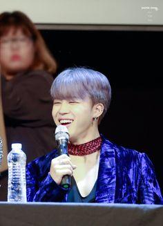 Jimin ❤ BTS at the Bundang Fansign #BTS #방탄소년단