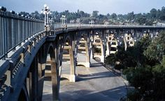 Colorado Street Bridge is an arch bridge, road bridge and reinforced concrete bridge that was completed in The project is located in Pasadena, Los Angeles County, California, USA. Colorado Street Bridge, Arch Bridge, Los Angeles County, 21st Century, Life Is Good, Pasadena California, World, Nerdy, Art