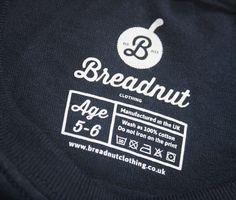 tag t shirt - Pesquisa Google T Shirt Label, Label Tag, Tag Design, Label Design, Screen Printing Shirts, Kids Branding, Clothing Labels, Vintage Labels, Fashion Branding