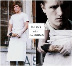 i feel like he is weird for the part of Peeta but I guess we'll see in March. but i still love him