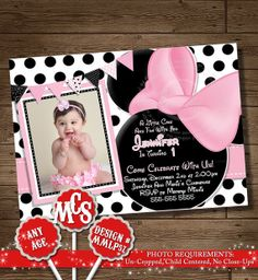 Hey, I found this really awesome Etsy listing at http://www.etsy.com/listing/174449208/huge-selection-minnie-mouse-invitation