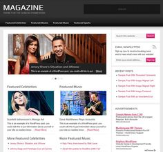 magazine 2.1 genesis child theme for WordPress - mobile responsive, and oh so glossy.