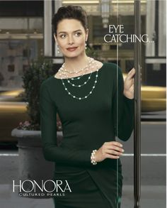 Honora White Color Crush #honora #pearls #luxury #adcampaign