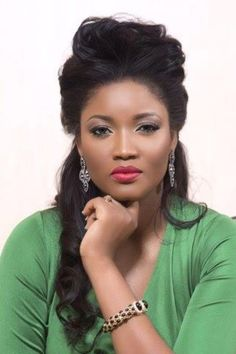 Welcome To Chris biz-Blog: Omotola Jalade-Ekeinde Is The Most Beautiful Actre...