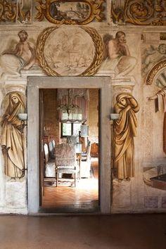 Villa Manin - Codroipo, province of Udine, Friuli Venezia Giulia Italian Villa, Italian Style, Fresco, In Loco, Regions Of Italy, Grisaille, Trieste, Northern Italy, Interior Design Inspiration