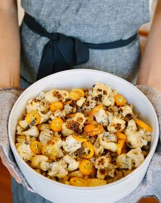 Browned Cauliflower and Kumquats via A House in the Hills