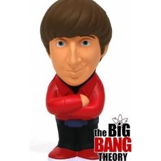 The Big Bang Theory Howard Wolowitz Stress Doll 5.5 inch