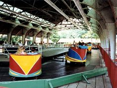 The Whip under the pavilion, Kennywood