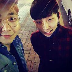 Jongup IG update @gagjinbeom 개그진범 오이예~
