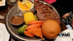 Burger and Steak at Steaky Riyadh Restaurant Riyadh, Steak, Restaurant, Cheese, Food, Rage, Diner Restaurant, Essen, Steaks