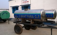 Mobile Water Supply Tanks by Bhatpara GP Dakshin Dinajpur from ISGPP