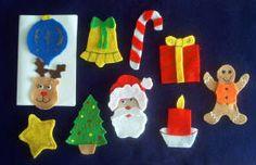 Santa What Do You See? Felt Board Set