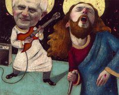"""Jesus Frenzy""  for Decibel Magazine"