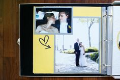 A Non-Scrapbooker's Guide to the Wedding Scrapbook — the thinking closet