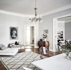 living room | swedish apartment