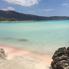 Pink sand no filter #greece #crete #pinksand