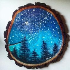 Rustic Wall Decor - Galaxy Artwork - Landscape Art,How To Produce Wood Art ? Wood art is typically the task of shaping around and inside, provided that the outer lining of anything is flat. Galaxy Painting, Galaxy Art, Galaxy Decor, Art Diy, Diy Wall Art, Wood Painting Art, Wood Art, Wall Wood, Wood Paintings