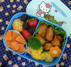 Happy Little Bento: baked Mochiko Chicken Bento